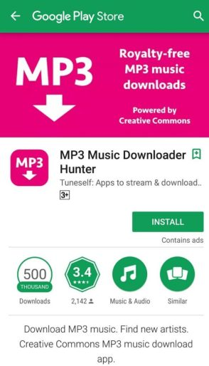 MP3 Music Download Hunter app download