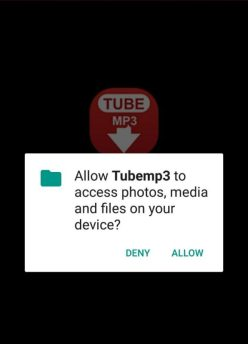 install TubeMp3 YouTube Downloader app