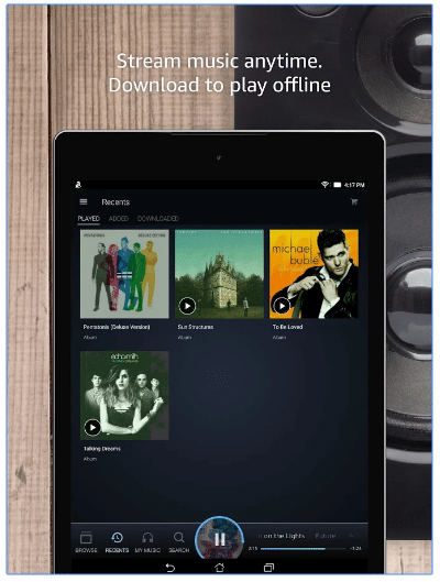 amazon music offline