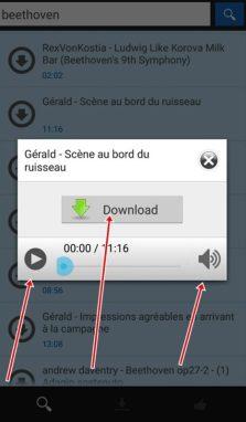Omega Mp3 Downloader apk