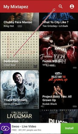 My Mixtapez search