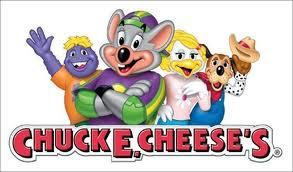 FREE Tokens at All Chuckee Cheese