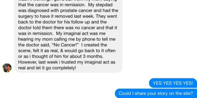 Cancer Gone! – FEEL IT REAL SUCCESS STORY!