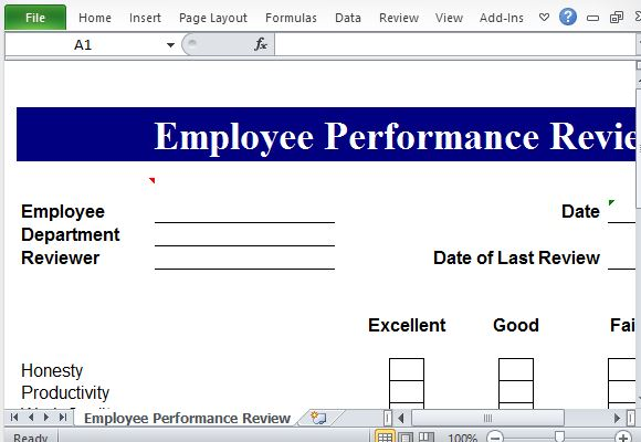 evaluation template free download documents in pdf performance – Performance Evaluation Templates