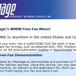 How To Fax From Computer With Interpage?