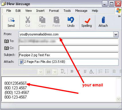 How To Fax From MS Outlook Email - Brief Guide