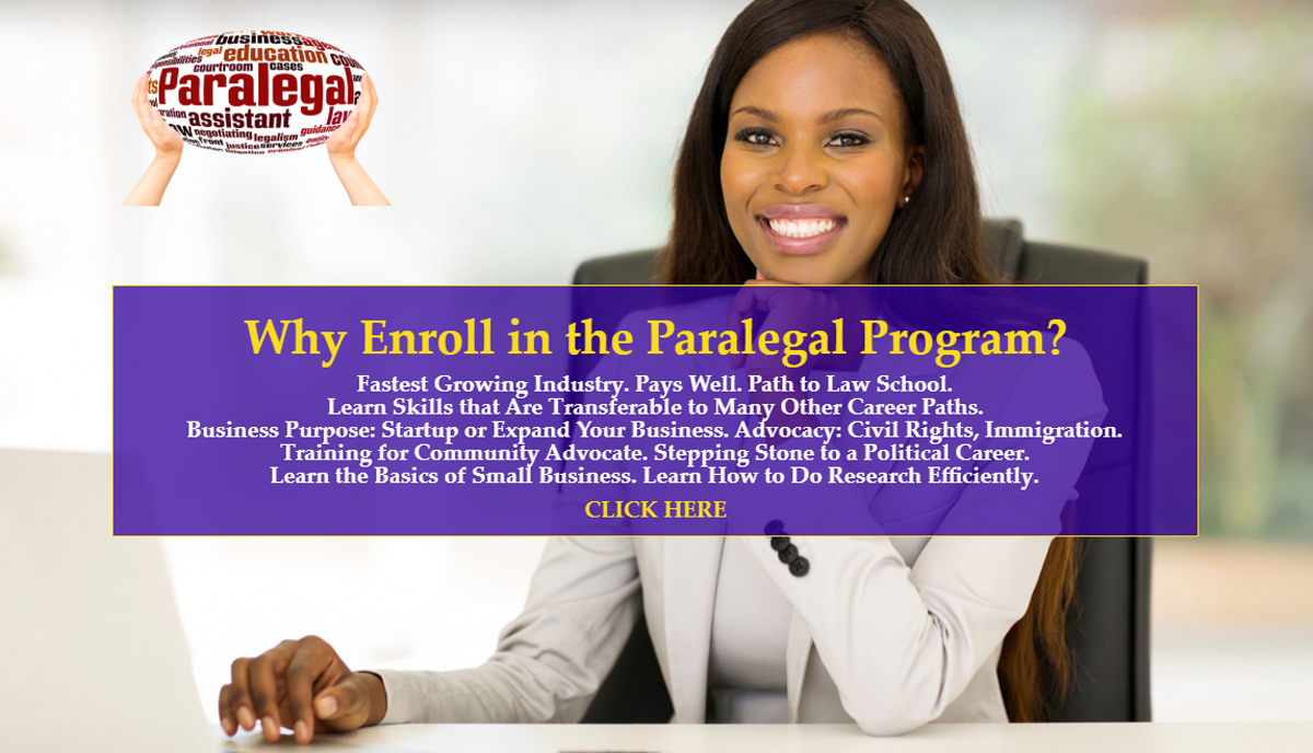 Chamber Paralegal Certificate Course On Site In Person