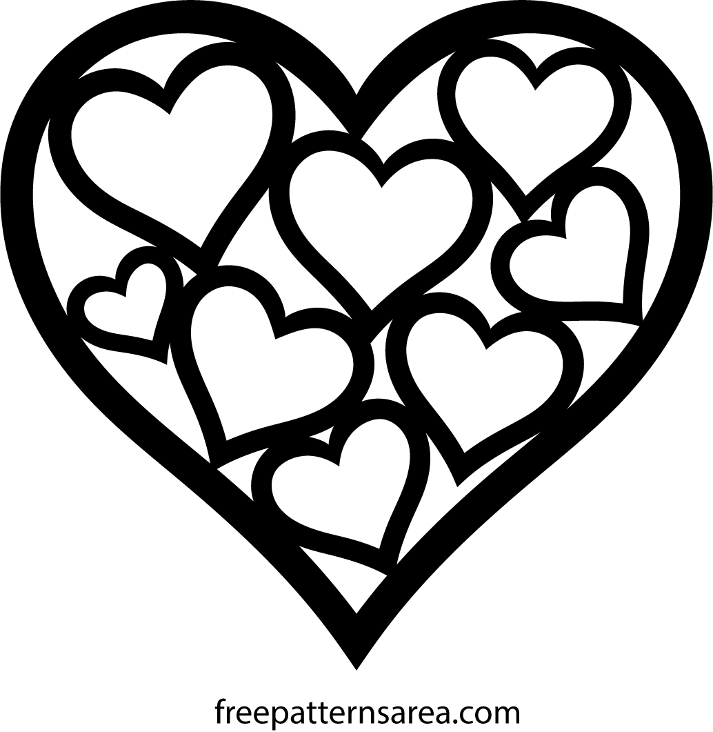 Heart Shaped Easy Cut Out Crafts For Valentine S Day