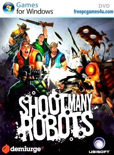 Shoot Many Robots PC Game Free Download Full Version