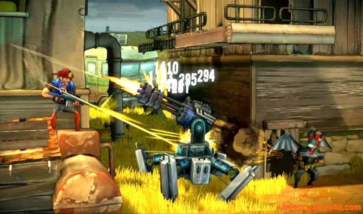 Shoot Many Robots PC Game Free Download