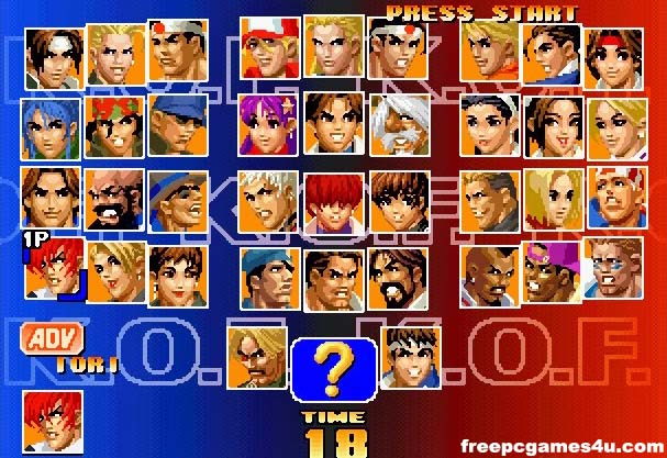 The King Of Fighters 97 Video Game Players