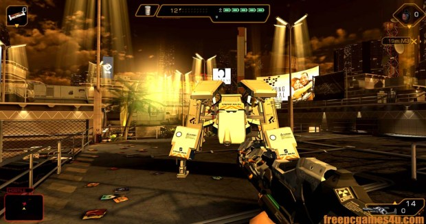 Deus EX The Fall Reloaded PC Game