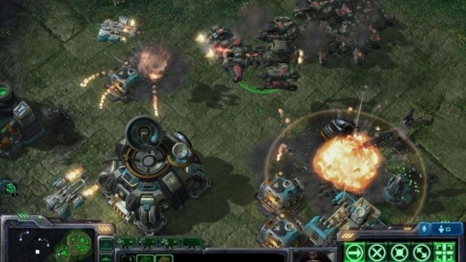 StarCraft II Wings of Liberty ScreenShot 1