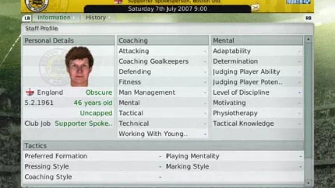 Football Manager 2008 ScreenShot 2