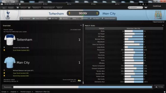 Football Manager 2011 ScreenShot 3