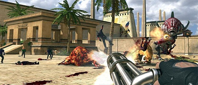 Serious Sam HD The First Encounter Free Download Full