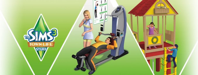 The Sims 3 Town Life Stuff Pack Free Game Download