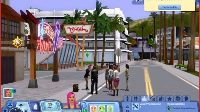 The Sims 3 Town Life Stuff ScreenShot 3
