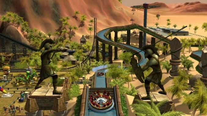 RollerCoaster Tycoon 3 ScreenShot 1