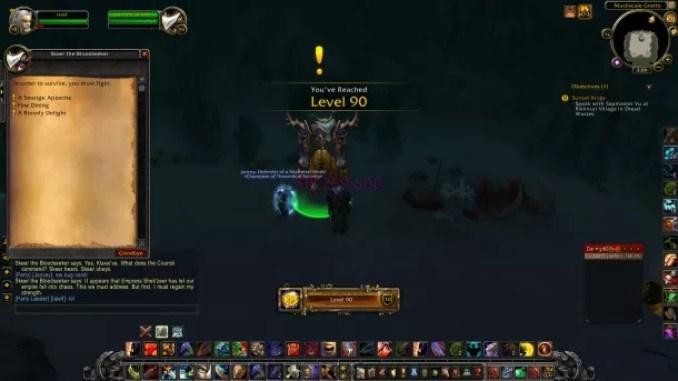 World of Warcraft Mists of Pandaria ScreenShot 2