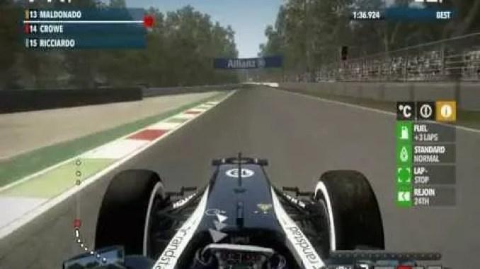 F1 2012 ScreenShot 2