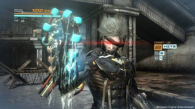 Metal Gear Rising Revengeance ScreenShot 2