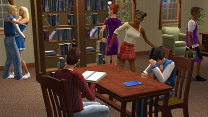 The Sims 2 University ScreenShot 4