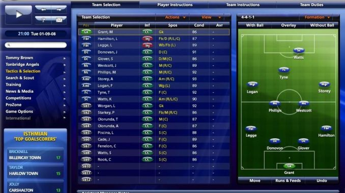 Championship Manager 2010 ScreenShot 1