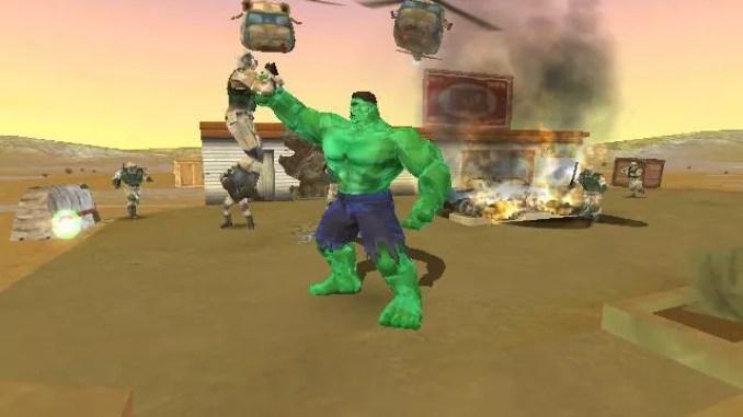 Hulk Vidoe Game ScreenShot 3
