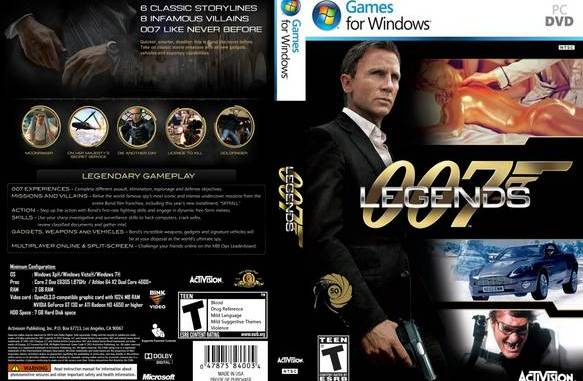 007 Legends (2012 Game) Free Full Download