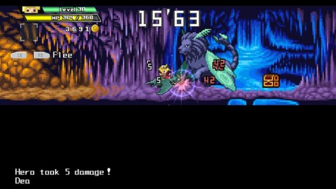 Half-Minute Hero Super Mega Neo Climax Ultimate Boy ScreenShot 2