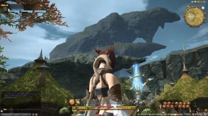 Final Fantasy XIV A Realm Reborn Game ScreenShot 2