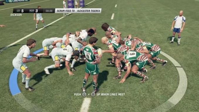 Rugby Challenge 2 ScreenShot 1