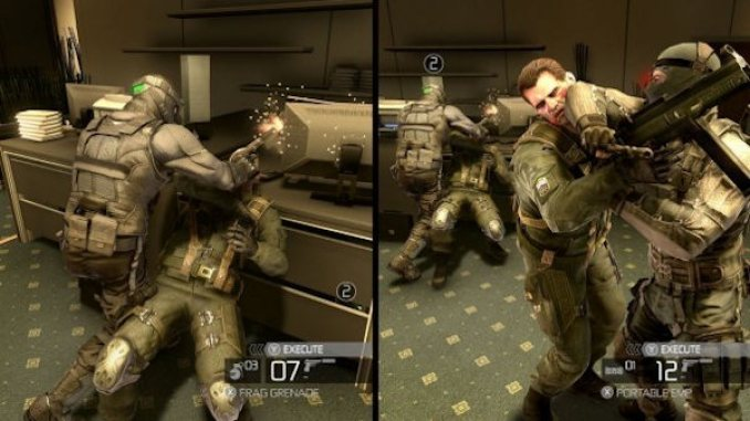 Tom Clancys Splinter Cell Conviction ScreenShot 2