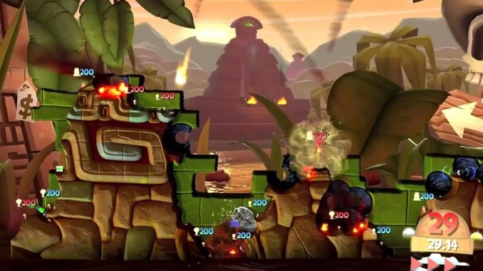 Worms Clan Wars ScreenShot 2