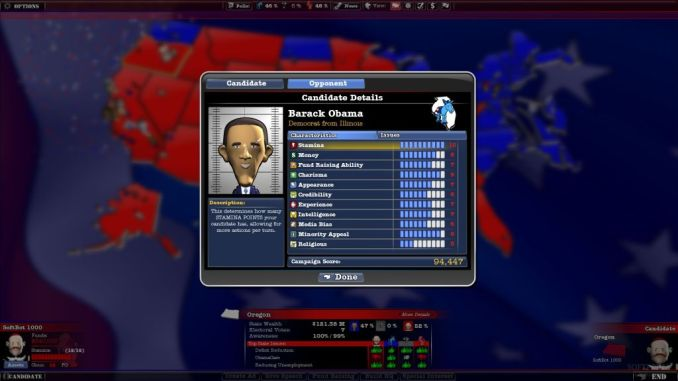 The Political Machine 2012 ScreenShot 3