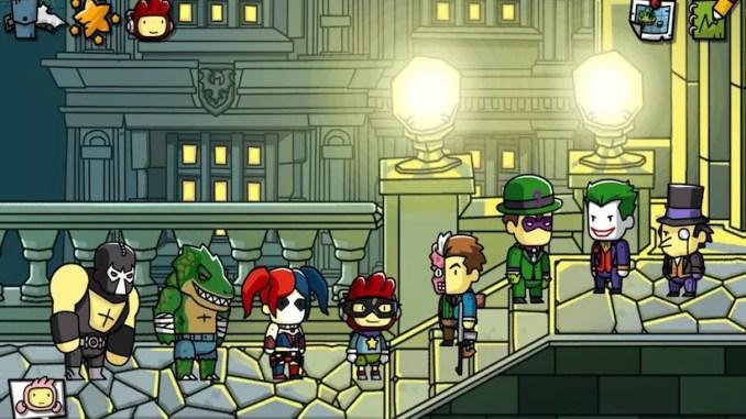 Scribblenauts Unmasked A DC Comics Adventure ScreenShot 1