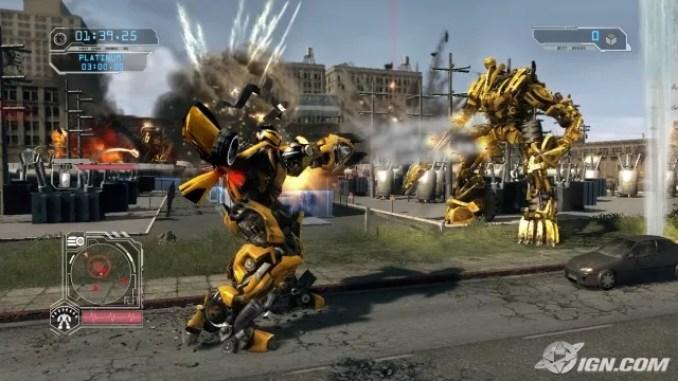 Transformers Revenge of the Fallen ScreenShot 3