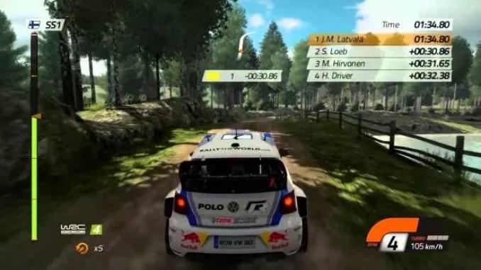 WRC 4 FIA World Rally Championship ScreenShot 2