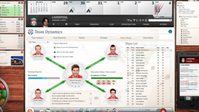 FIFA Manager 14 Game Screenshot 2