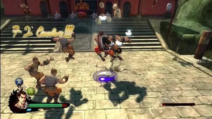 Kung Fu Strike The Warrior's Rise Game Screenshot 2