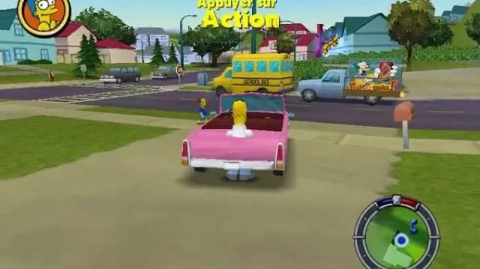 The Simpsons Hit Run Screenshot 3