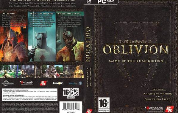 Image result for Oblivion Game Of The Year Edition PC Free Download