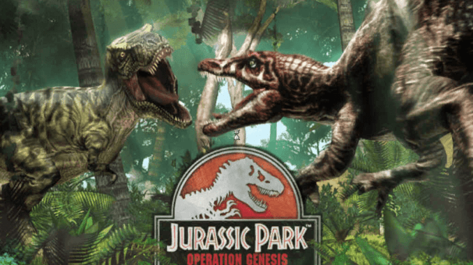 Jurassic Park Operation Genesis Free Download Game Full
