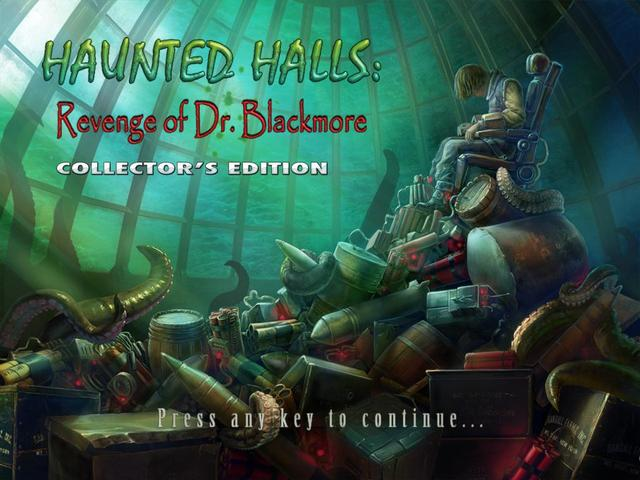 Haunted Halls: Revenge of Dr. Blackmore (Collector's Edition)