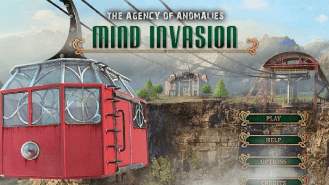 The Agency of Anomalies Mind Invasion (CE)
