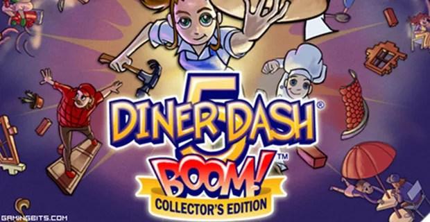 Diner Dash 5 BOOM Collectors Edition