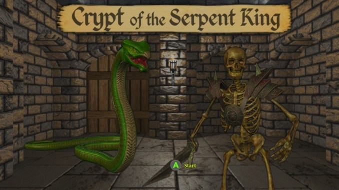 Crypt of the Serpent King Free Game Download Full