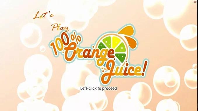 100% Orange Juice Full Download Game