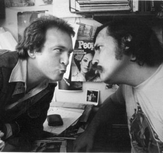 Creem founder and publisher Barry Kramer and legendary music writer Lester Bangs where photographed in June 1976. Kramer began the magazine with $1500 in 1969.